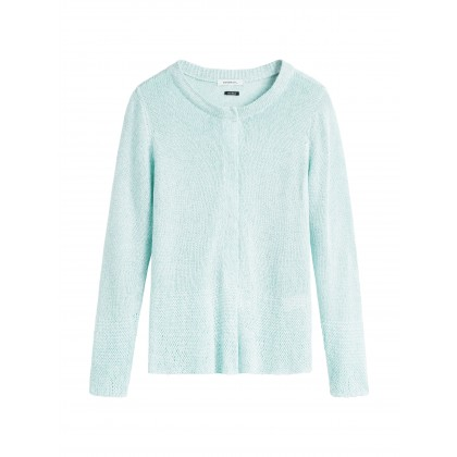 Cardigan Long Sleeves - Blue haze /