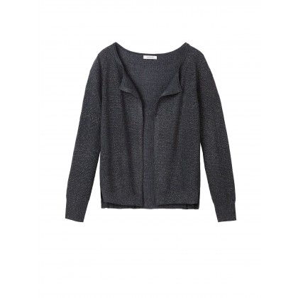 Mutli coloured Strickjacke - Graphite /