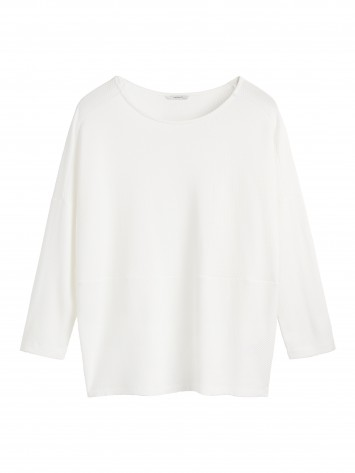 T-shirt Long Sleeves - Lily White /