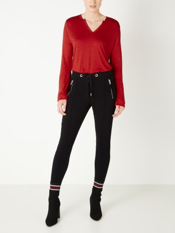 Treggings - Black /