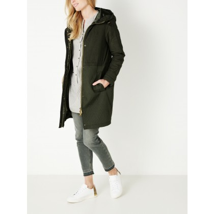 Parka mit Stepp-Muster - Dark Bottle Green /