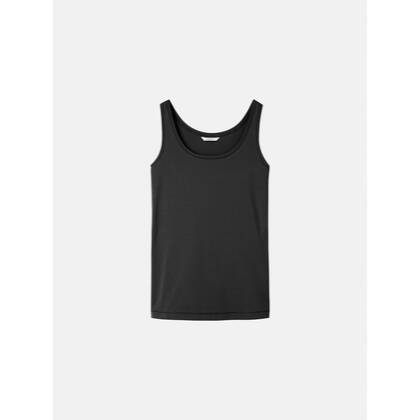 Einfarbiges Singlet - Almost Black /