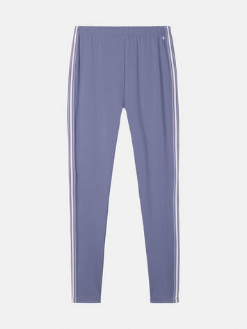 Leggings mit Paspel - Grey Lilac /
