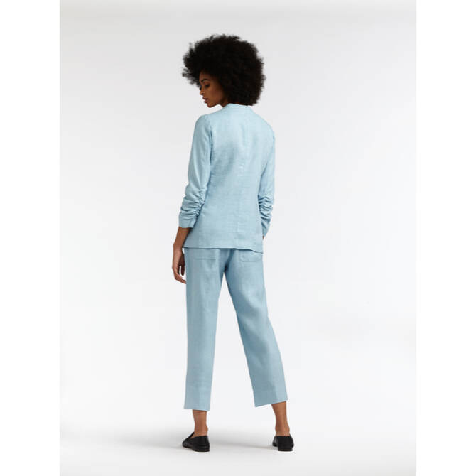 Comfort Cropped Hose - Forget-me-not /