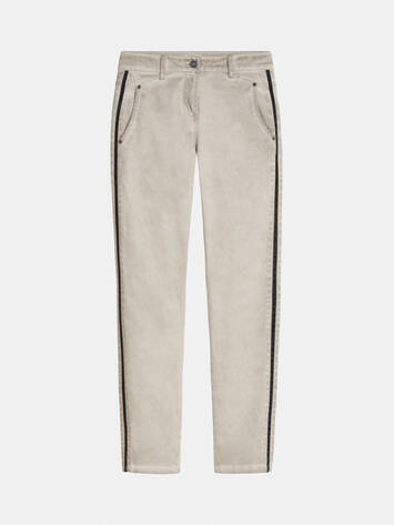 Verona - Relaxed Fit Hose mit Paspel /