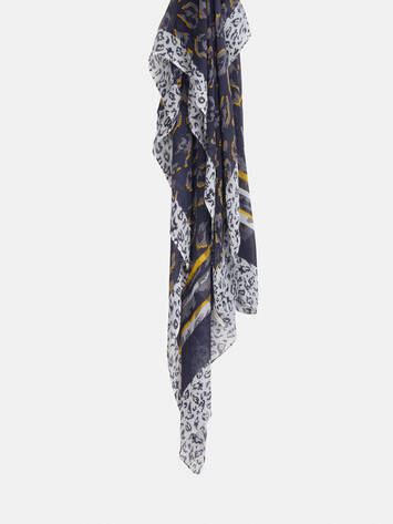 Scarf with print /